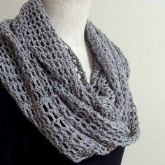 スヌードの無料編み図