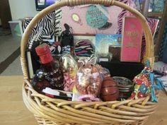 College easter basket for girl