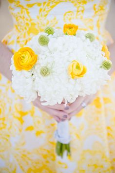 Bright summer bouquet #white #yellow #flowers