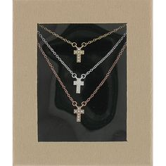 Triple Cross Necklace on SonGear.com - Christian Shirts, Jewelry