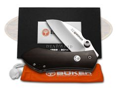 BOKER TREE BRAND 145th Grenadill Anso 67 Framelock 1/145 Stainless Pocket Knife - BO110520 FOLDING   110520 - 788857030974