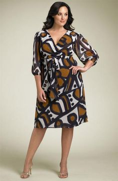 Eliza J Surplice plus size dress.jpg