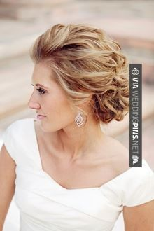 Wedding Hairstyles {Best Bridal Hair Ideas in Formal Hairstyles, Bride Hairstyles, Pretty Hairstyles, Simple Hairstyles, Wedding Ideias, My Hairstyle, Hairstyle Ideas, Bridal Updo, Wedding Updo