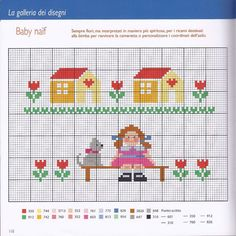 Thrilling Designing Your Own Cross Stitch Embroidery Patterns Ideas. Exhilarating Designing Your Own Cross Stitch Embroidery Patterns Ideas. 123 Cross Stitch, Cross Stitch House, Beaded Cross Stitch, Cross Stitch Borders, Cross Stitch Samplers, Cross Stitch Flowers, Cross Stitch Charts, Counted Cross Stitch Patterns, Cross Stitch Designs