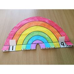 Rainbow Addition Craftivity