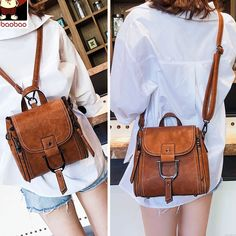 Leather Bag Pattern, Bags For Teens, Men's Backpack, Shoulder Backpack, Shoulder Bags, Small Messenger Bag, Girl Backpacks, Leather Backpacks, School Backpacks