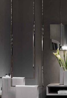 Decorating With Bathroom Towels Towel Hangers For Bathroom, Bathroom Spa, Bathroom Toilets, Modern Bathroom, Master Bathroom, Bathroom Ideas, Bathroom Interior Design, Interior Decorating, Plafond Design