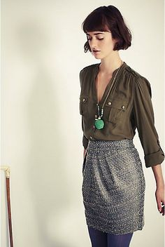 Anthropologie Avant-Tweed Skirt Sizes 8, 10, 12, Tabitha