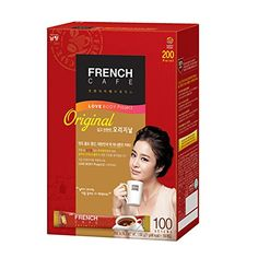 Premium French Cafe Original Instant Coffee Mix Sticks) by Namyang -- Check this useful article by going to the link at the image. Coffee Mix, Coffee Drinks, Korean Grocery, French Cafe, Instant Coffee, Sticks, Cold, Tea, The Originals