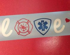 I need this for my van.  I love my firefighter / EMT
