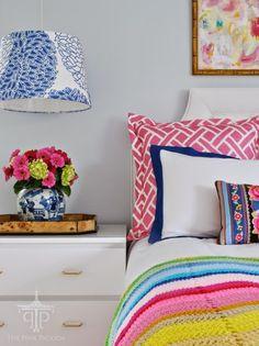 Bright & colorful bedroom #decor