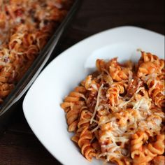 Skinny Veggie Spaghetti | PIN YOUR RECIPES | Pinterest