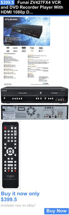 funai zv427fx4 dvd recorder and vcr player with hdmi 1080p dvd/vhs combo