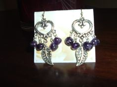 Amethist and silver   Just Create Designs by Colleen Hamm