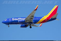 Southwest Airlines N708SW Boeing 737-7H4 aircraft picture