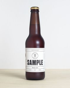 Branded to stand out from the saturated market, Sample, a new boutique beer concept, was created for the modern gentleman.