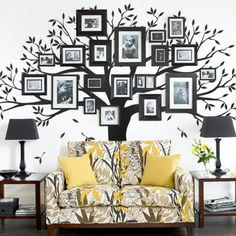 Home > Tree Wall Decals > Wall Stickers > Vinyl Wall Decals - Simpleshapes.com | Simple Shapes Wall Decals, Furniture and Accessories