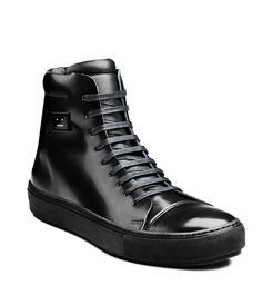 Acne Studios - Adrian High F Bottes Basket, Chaussures Chaussures De Sport,  Chaussures Hommes 9f5927749cd
