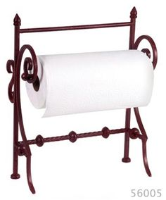 Iron Paper Towel Stand