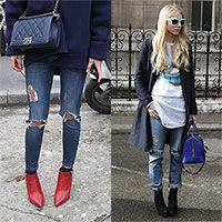 Streetstyle. Foto streetstyle, moda donna, accessori e sfilate su Margherita.net