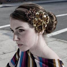 Modern 1930s inspired hair-style