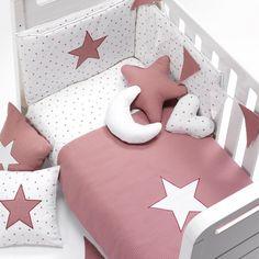 Cunas convertibles modernas para niños y niñas Alondra Baby Crib Diy, Baby Cribs, Baby Bedding Sets, Baby Pillows, Baby Bedroom, Baby Room Decor, Little Girl Beds, Kit Bebe, Baby Quilt Patterns
