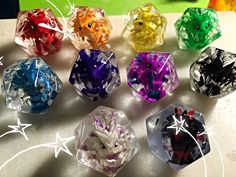 Not your average gaming dice & wares. Ever want something a little more special that not everyone has? Well that's where I can help ;)