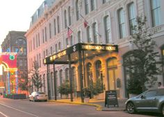 Historic Tremont House in Galveston, TX  Very nice place to stay in the heart of the Strand