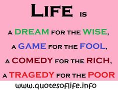 Rich and Poor Quotes | ... -for-the-rich-a-tragedy-for-the-poor-Sholom-Aleichem-life-quote.jpg