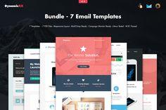 Bundle - 7 Email Templates by DynamicXX on Creative Market