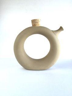 Vintage Hartstone Pottery Contemporary Wine by SandHollowVintage