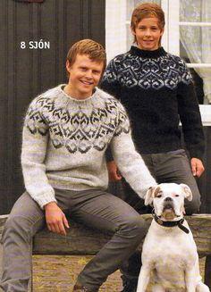 Tailor Made Wool Sweaters Knitting Kits, Fair Isle Knitting, Loom Knitting, Knitting Designs, Hand Knitted Sweaters, Knitted Bags, Wool Sweaters, Nordic Sweater, Men Sweater