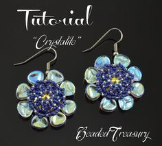 Hey, I found this really awesome Etsy listing at https://www.etsy.com/listing/487732571/crystalite-beaded-earrings-tutorial