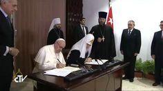 La histórica declaración conjunta del Papa Francisco y el Patriarca Kiril