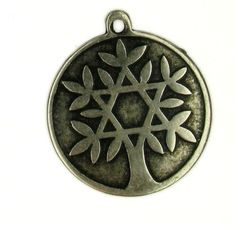 Tree of life star of David pendants for making by Bluenoemi, $8.00