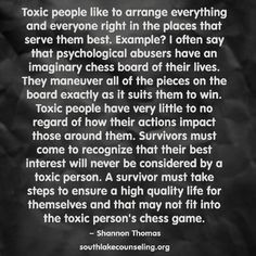 Narcissists use and abuse people