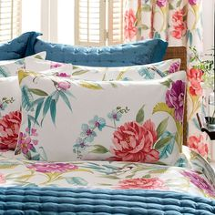 By, Dorma. Linen Bedding, Bedding Sets, Bed Linen, Boho Room, Cool Beds, Fashion Room, Bed Sheets, Bed Pillows, Pillow Cases