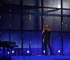 Eurovision Song Contest - Copenhagen 2014 : Hungary: András Kállay-Saunders.