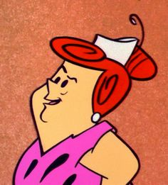 toon067 - Wilma's mom / The Flintstones / Hanna Barbera (1960)
