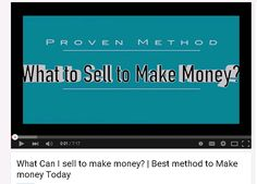 Stop searching you house looking for what to sell to make money, when you can be doing this method