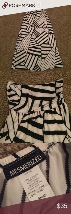 Dress Super beautiful silky smooth. Only used Once.. In perfect condition Mesmerized  Dresses Strapless