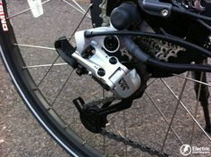 IZIP Ultra electric bike SRAM rear derailleur