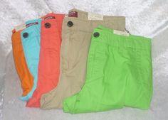 Arizona boys chino shorts cotton adjustable husky regurl size 10 14 16 18 20 NEW  14.99 free us shipping http://www.ebay.com/itm/-/262132948122?