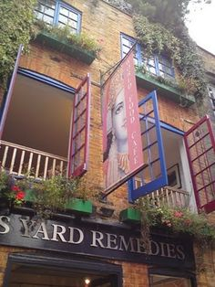Used to spend hours in Neals Yard
