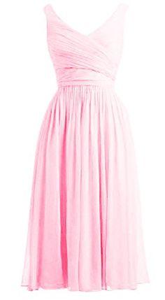*Maillsa 2015 New Women's Deep V-Neck Chiffon Bridesmaid Dress,Party Dress,Tea Length PP 20 Maillsa http://www.amazon.com/dp/B00VZTHIUK/ref=cm_sw_r_pi_dp_KHRyvb0YY2S6P