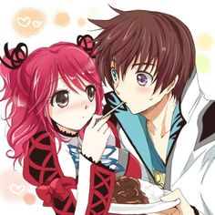 Cheria and Asbel Tales Of Graces, Tales Series, Story Arc, Anime Couples, Kawaii Anime, Manga Anime, Boy Or Girl, Super Cute, Fan Art