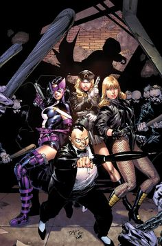 The Penguin and The Birds of Prey by Ed Benes, colours by Nei Ruffino