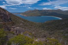 The world's best hidden beaches: Wineglass Bay. Photo by Michael Rawle