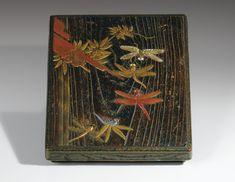 Suzuribako en laque signé Kano Kjuhaku Japon, époque Edo XVIII<sup>E</sup> siècle | Lot | Sotheby's