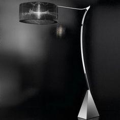 Atena P floor lamp by Luce Da Vivere Italian Lighting, Modern Lighting, Lighting Design, Contemporary Floor Lamps, Modern Floor Lamps, Modern Light Fixtures, Home Decor Styles, Household Items, Mid-century Modern